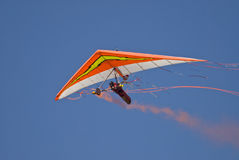 Hang gliding Stock Images