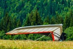 Hang Gliding royaltyfria foton