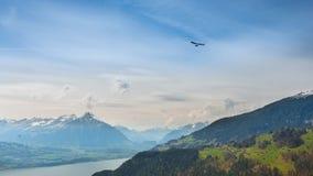 Hang Gliding Fotografie Stock Libere da Diritti