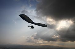 Hang gliding Stock Photography
