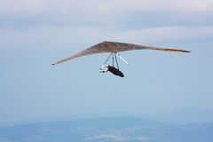 Hang gliding competitions in Italy Stock Photo