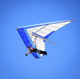 Hang Gliding Kalifornien Arkivbild