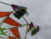 Hang Gliding Kids Royalty Free Stock Photo