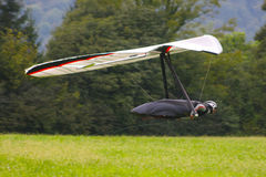 Hang gliding in Monte Cucco Royalty Free Stock Photo