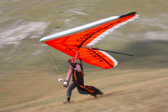 Hang gliding in Monte Cucco Stock Photography
