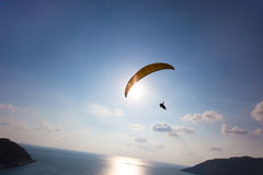 Hang gliding in Phuket, Thailand Stock Photo