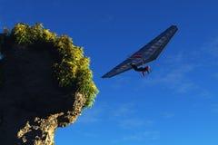Hang-gliding Stock Image