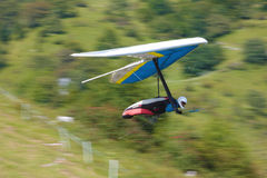 Hang gliding in Slovenia Royalty Free Stock Photography