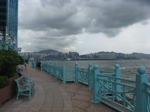 Hang Hom promenad, Hong Kong royaltyfri fotografi