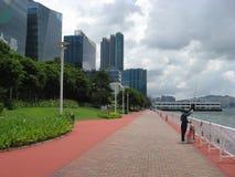 Hang Hom-promenade, Hong Kong stock afbeeldingen