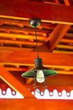 Hang lamp. Asian style antique hang lamp Royalty Free Stock Photography