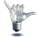 Hang Loose Light Bulb Foto de archivo libre de regalías