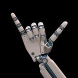 Hang Loose Robot Arkivbild