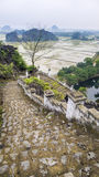 Hang Mua Stairs Vietnam Royalty Free Stock Photography