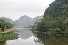 Hang Mua Temple Ninh Binh-Provincie, Ha Noi Vietnam Dec 2018 royalty-vrije stock foto's