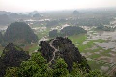 Hang Mua Temple Ninh Binh-Provinz, ha Noi Vietnam Dec 2018 stockbild