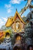 Hang Nga Crazy House, Biệt thự Hằng Nga, Da Lat Royalty Free Stock Images