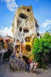 Hang Nga Crazy House, Biệt thự Hằng Nga, Da Lat Stock Images