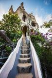 Hang Nga Crazy House, Biệt thá»± Hằng Nga, Da Lat. DA LAT, VIETNAM - NOV 26: Hang Nga guesthouse, popularly known as the Crazy House on Nov 26 royalty free stock photo