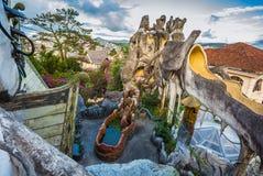 """Hang Nga Crazy House ± Hằng Nga, Da-Lat för thá för Biá"""" ‡ t"""" Fotografering för Bildbyråer"""