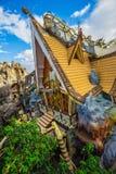 """Hang Nga Crazy House ± Hằng Nga, Da-Lat för thá för Biá"""" ‡ t"""" Royaltyfri Bild"""