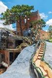 Hang Nga Guesthouse Crazy House Royaltyfria Bilder