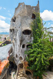 Hang Nga Guesthouse Crazy House Arkivbilder