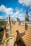 Hang Nga Guesthouse Crazy House Royaltyfri Bild