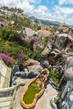 Hang Nga Guesthouse Crazy House Arkivbild