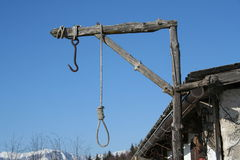 Hang noose. Hang knot stock photos