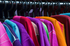 Hang shirts Royalty Free Stock Photo