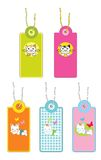 Hang tags for clothes Royalty Free Stock Photo
