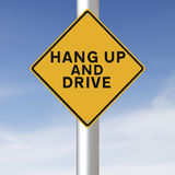 Hang Up and Drive Stock Images