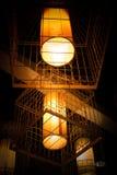 Hang up lamp Stock Image