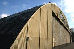 Hangaar Royalty-vrije Stock Foto