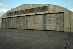 Hangaar Royalty-vrije Stock Foto's