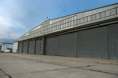 Hangaar Royalty-vrije Stock Afbeelding