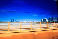 Hangang river Royalty Free Stock Images