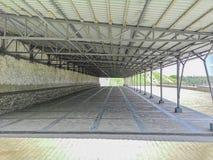 78-Hangar Foto de Stock Royalty Free