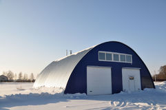 Hangar. Image stock