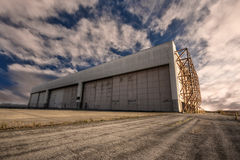 Hangar Obrazy Royalty Free