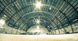 hangar Arkivbild
