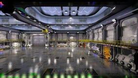 hangar Zdjęcia Stock