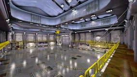 hangar Obraz Royalty Free