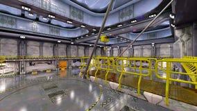 hangar Zdjęcie Royalty Free