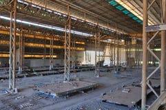 Hangar abandonado. Fotografia de Stock Royalty Free