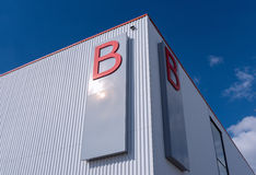 Hangar b Stock Image