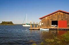 hangar chesapeake Fotografia Stock