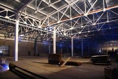 Hangar com telhado Imagem de Stock Royalty Free
