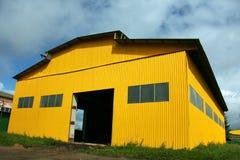 Hangar d'entrepôt Image stock